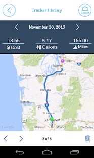 EasyBiz Mileage Tracker - screenshot thumbnail