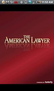 The American Lawyer- screenshot thumbnail