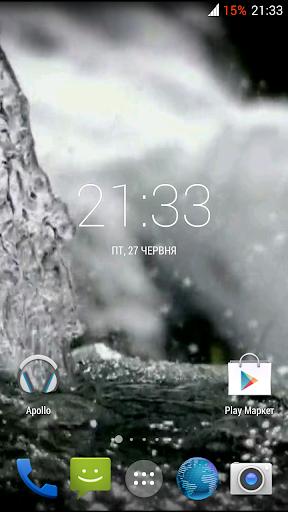 Water 3D. Video Wallpaper