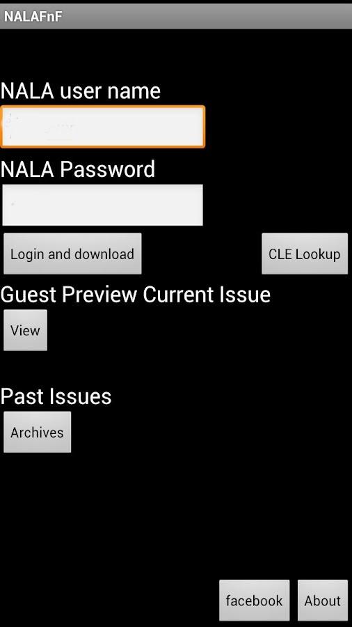 NALA F&F- screenshot