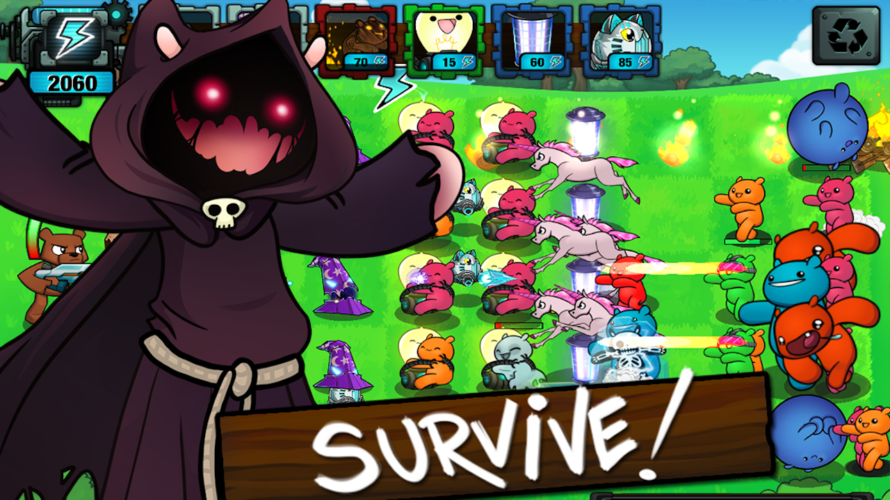 BEARS vs ZOMBIES - TD Defense - screenshot