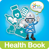 PTTEP Health Book Application
