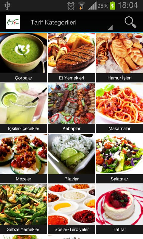 Yemek Tarifleri - screenshot
