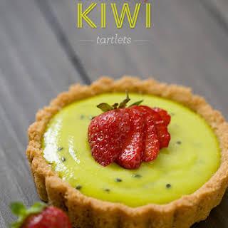 Strawberry Kiwi Tartlets.