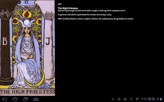 Screenshot of TarotBot tarot reader Ad Free