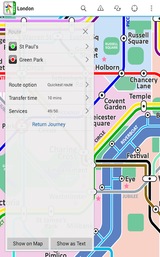 London Tube by Zuti- screenshot