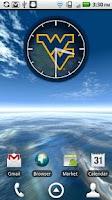 Screenshot of West Virginia Clock Widget