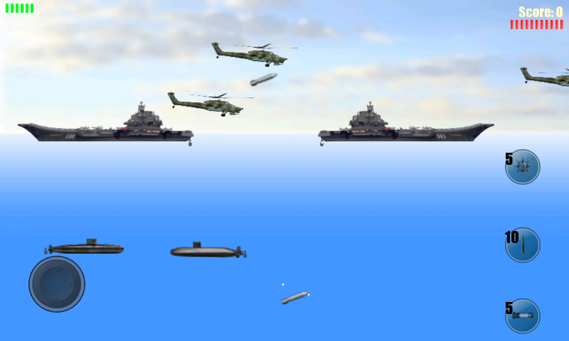 Submarine Attack!- screenshot