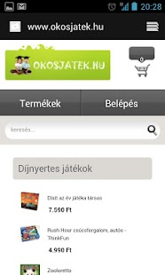 Okosjáték- screenshot thumbnail