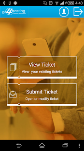 go4hosting Ticket Panel- screenshot thumbnail