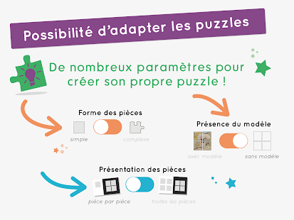 Puzzle-Animaux -Apprendre le puzzle -- AMIKEO APPS- screenshot thumbnail