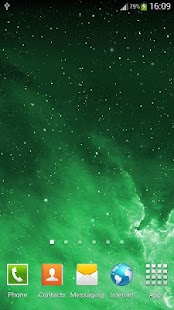 Galaxy Parallax Live Wallpaper- screenshot thumbnail