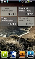 Screenshot of The World Clock