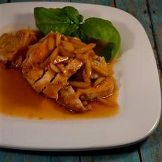 Spicy Almond Chicken.