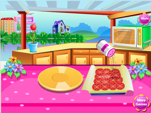 玉米比薩烹飪遊戲
