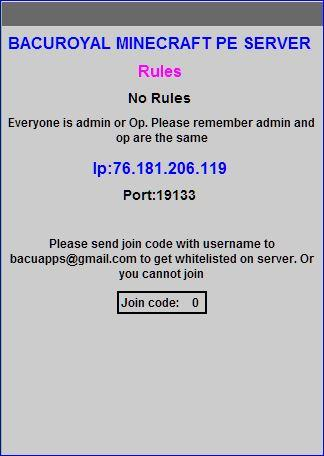 BacuRoyal Pe Server Pro