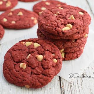 Easiest Red Velvet Cookies.