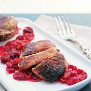 Cranberry, Orange & Cardamom Glaze