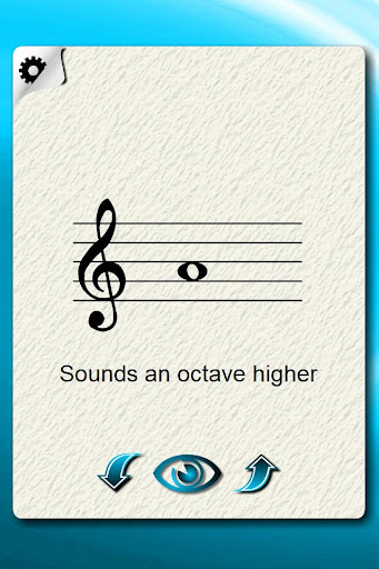 Recorder Notes Flash Cards