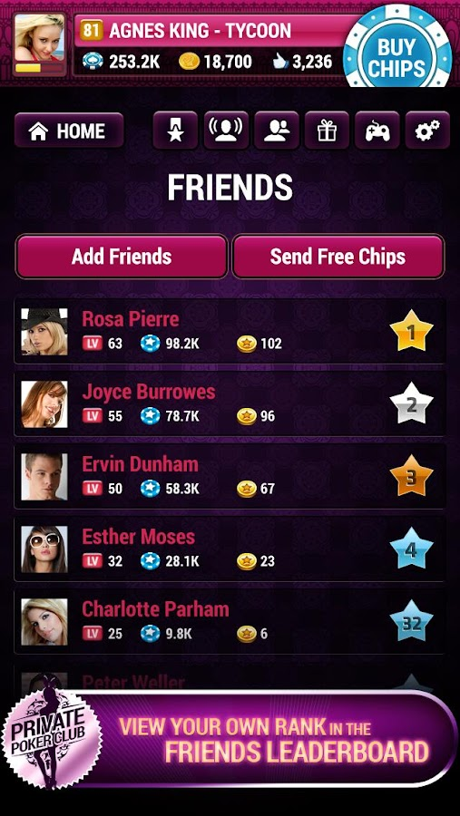 Private Poker Club - screenshot