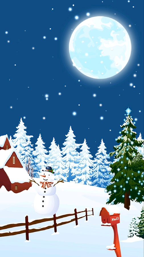 xmas live wallpaper android apps on google play