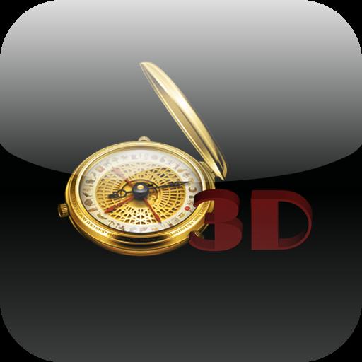 3D Compass LOGO-APP點子