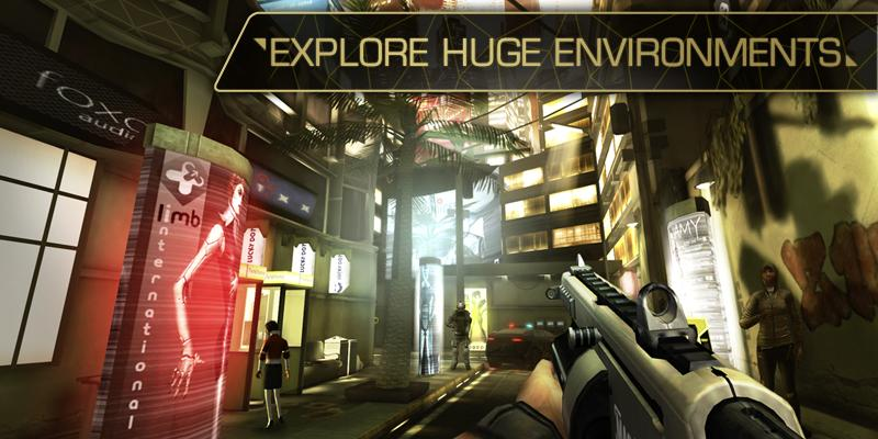 Deus Ex: The Fall- screenshot