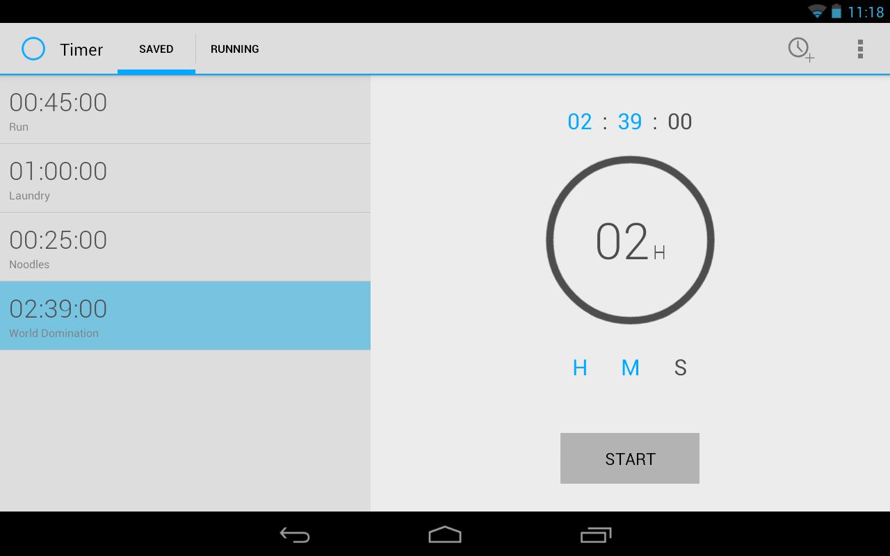 Timer - screenshot