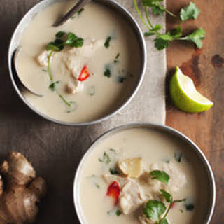 Thai Chicken and Coconut Soup.