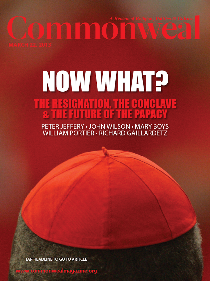 Commonweal Magazine - screenshot
