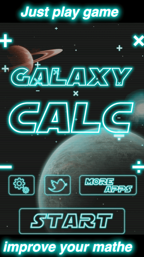 GalaxyCalc- screenshot