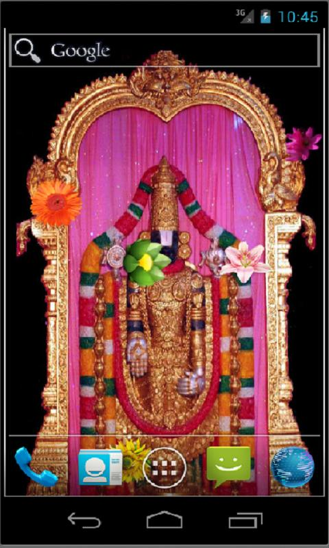 Tirupati Balaji Live Wallpaper - screenshot