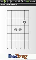 Screenshot of Guitar Chord Analyzer