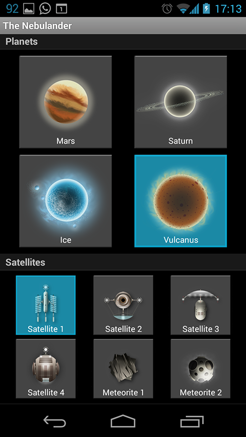 The Nebulander LWP- screenshot
