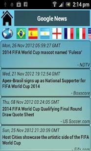 Brazil 2014 World Cup - Pro screenshot