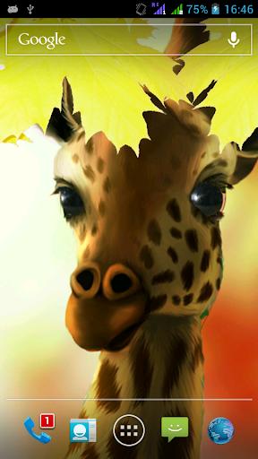 【免費個人化App】Giraffe HD Parallax LWP Pro-APP點子