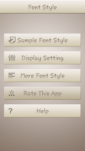 Plum Font Style