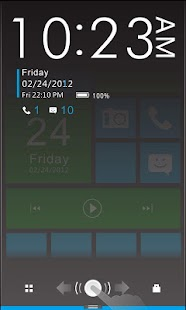 Color box Plus GO Locker Theme- screenshot thumbnail