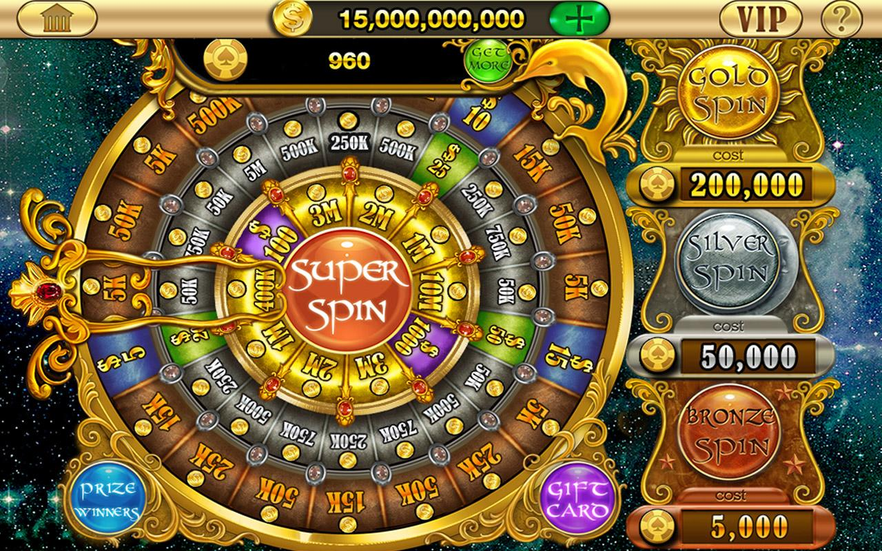 Gold Dolphin Casino Slots™- screenshot