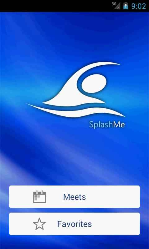 SplashMe: screenshot