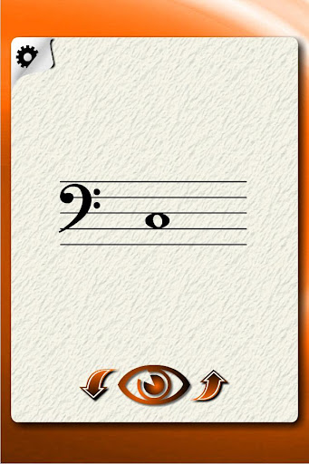Contrabass Notes Flash Cards