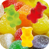 Jelly and Candy Live Wallpaper