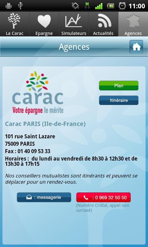 L'épargne solidaire par Carac- screenshot