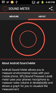 Android Sound Meter - screenshot thumbnail