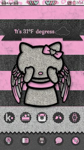 Angel Kitty Go Launcher