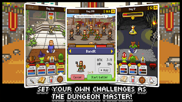 Screenshot of Knights of Pen & Paper +1