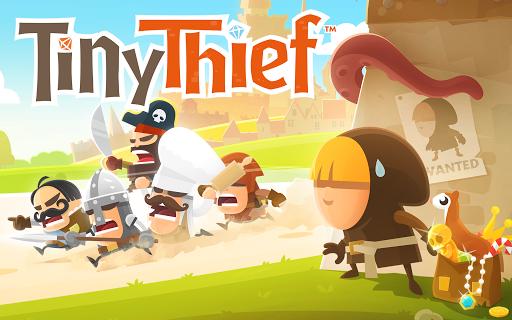 Игра Tiny Thief для планшетов на Android