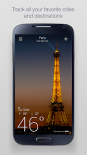 Yahoo Weather- screenshot thumbnail