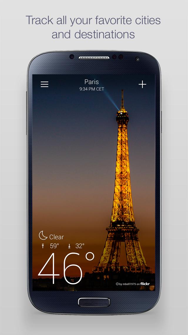 Yahoo Weather screenshot #5