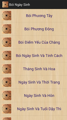 Boi Ngay Sinh